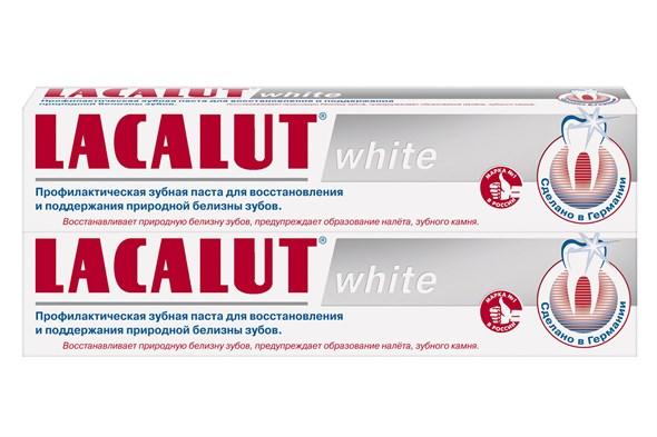 LACALUT white профилактическая зубная паста 75 мл - фото 7290
