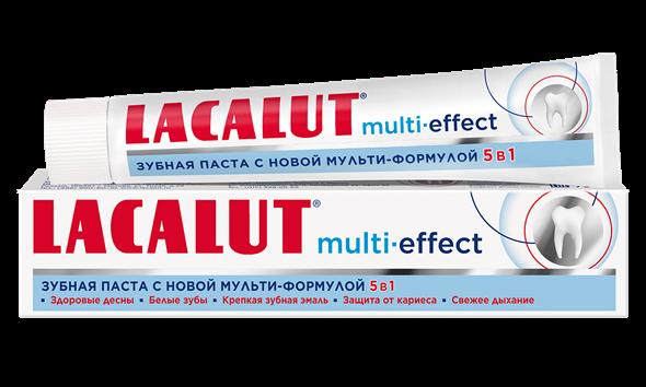 Lacalut multi-effect зубная паста, 50 мл - фото 7319
