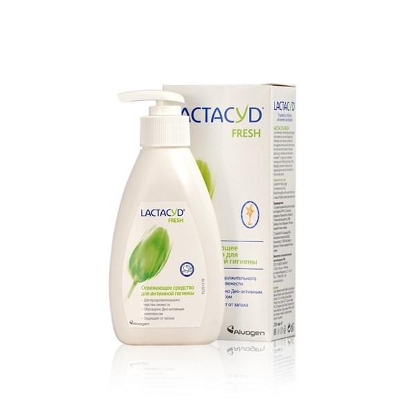 Lactacyd Fresh Средство для интимной гигиены освежающее, 200мл - фото 7509