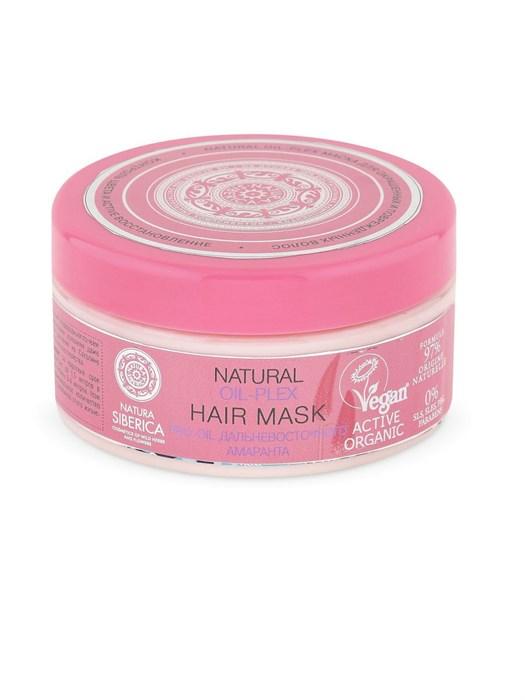 Natura Siberica / oil-plex / Маска для окрашенных и поврежденных волос, 300 мл - фото 7545