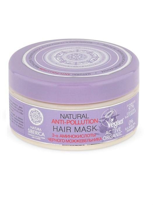 Natura Siberica / anti-pollution / Маска для тонких волос и секущихся кончиков, 300 мл - фото 7546