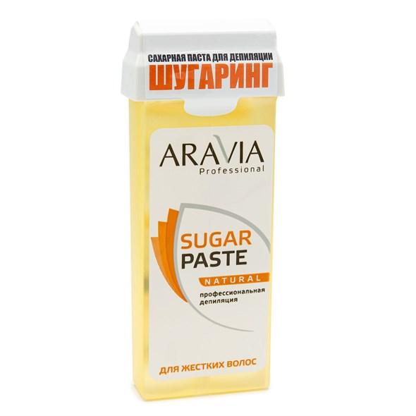 """ARAVIA Professional Сахарная паста для шугаринга в картридже """"Натуральная"""" мягкой консистенции, 150 г./20 - фото 7571"""
