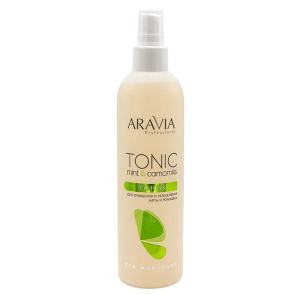 ARAVIA Professional Тоник для очищения и увлажнения кожи с мятой и ромашкой, 300 мл./16 - фото 7659
