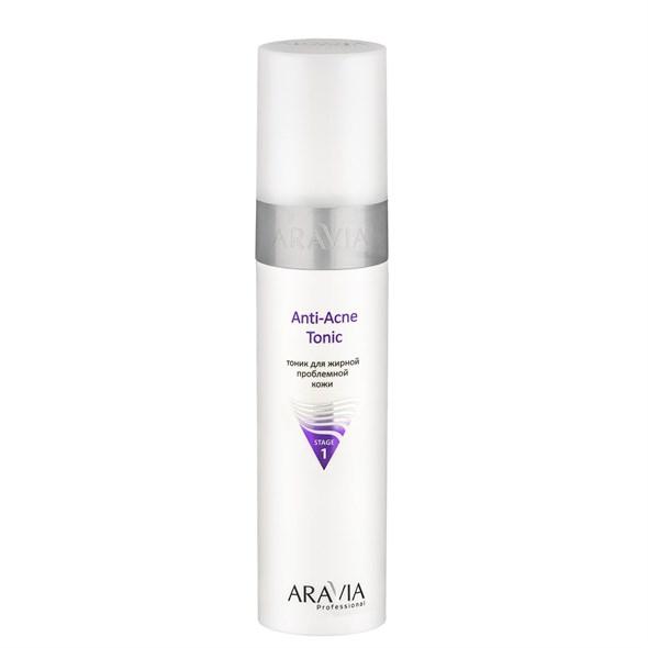 ARAVIA Professional Тоник для жирной проблемной кожи Anti-Acne Tonic, 250 мл./12 - фото 7689