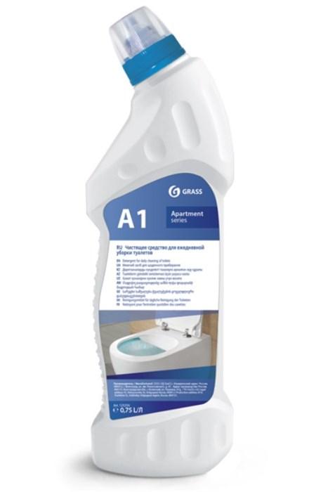А1. Моющее средство для ежедневной уборки туалетов 750мл - фото 7978