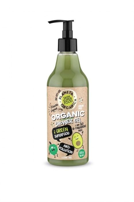 Planeta Organica / Skin Super Food / Гель для душа «Anti-pollution», 500 мл - фото 8037