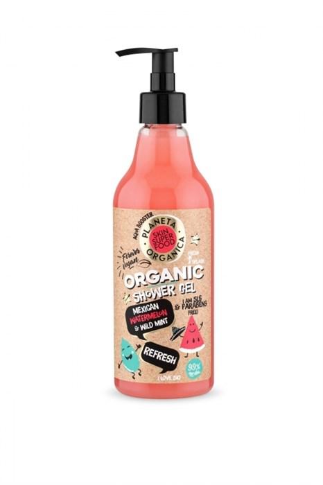 Planeta Organica / Skin Super Food / Гель для душа «Refresh», 500 мл - фото 8038