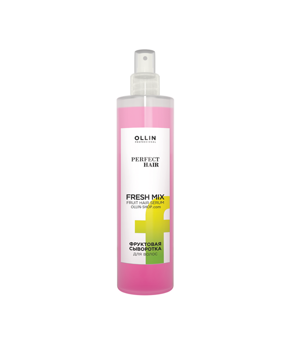 OLLIN PERFECT HAIR FRESH MIX Фруктовая сыворотка для волос 120мл - фото 8177