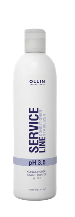 OLLIN SERVICE LINE Кондиционер-стабилизатор рН 3.5 250мл/ Сonditioner-stabilizer pH 3.5 - фото 8191