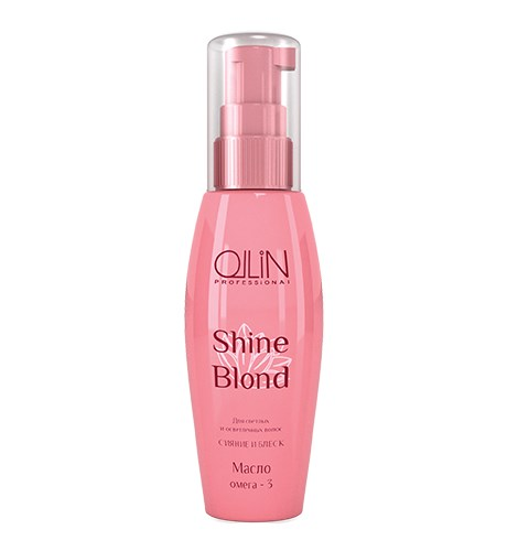 OLLIN SHINE BLOND Масло ОМЕГА-3 50мл - фото 8201