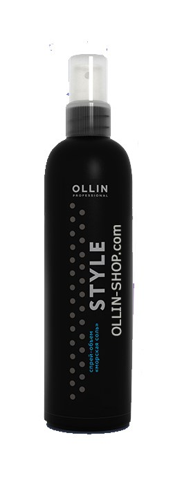OLLIN STYLE Спрей-объем Морская соль 250мл - фото 8208