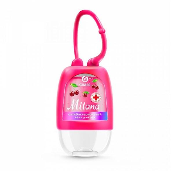 Гигиенический гель для рук Milana спелая черешня, 30 мл - фото 8234