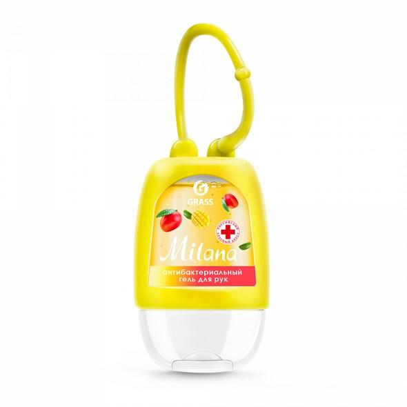 Гигиенический гель для рук Milana манго и лайм, 30 мл - фото 8235
