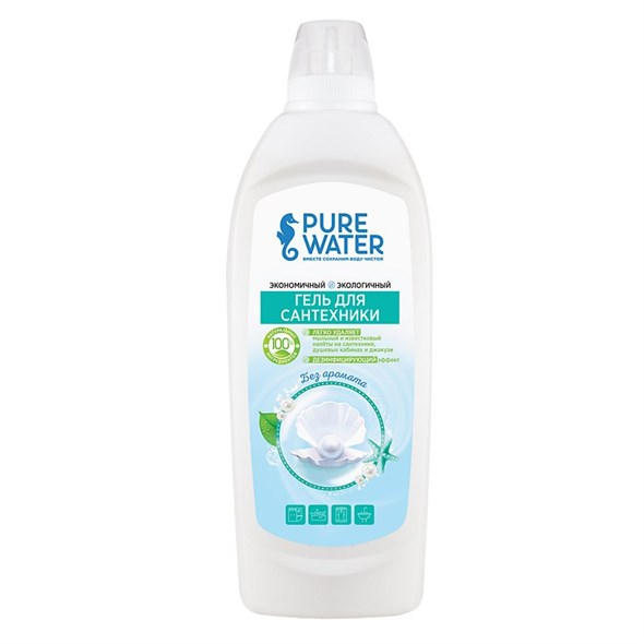 Гель для сантехники Pure Water, 500 мл - фото 8381