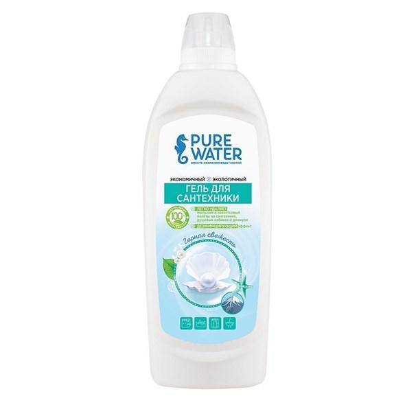 Гель для сантехники Pure Water Горная свежесть, 500 мл - фото 8389