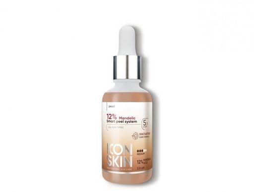 ICON SKIN  / Миндальный 12% пилинг для лица всесезонный, для всех типов кожи, профессиональный уход, 30 мл - фото 8677