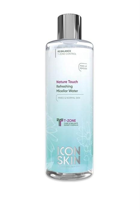 ICON SKIN  / Освежающая мицеллярная вода с цинком для нормальной и комбинированной кожи, 400 мл. - фото 8759