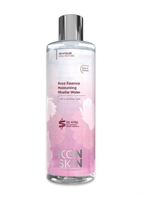 ICON SKIN  / Увлажняющая мицеллярная вода с гиалуроновой кислотой для нормальной и сухой кожи, 400 мл. - фото 8765