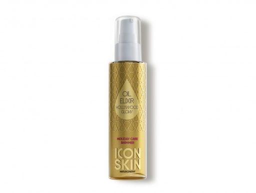 ICON SKIN  / Золотое парфюмированное масло-эликсир для тела с шиммером, 100 мл - фото 8920