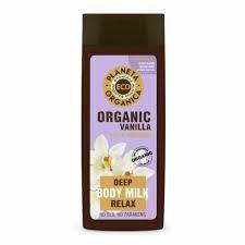 Planeta Organica / ECO / Organic vanilla / ванильное молочко для тела, 340 мл - фото 8988
