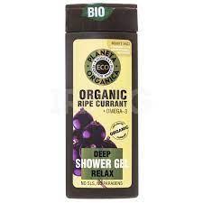 Planeta Organica / ECO / Organic ripe currant / Расслабляющий гель для душа, 340мл - фото 8990