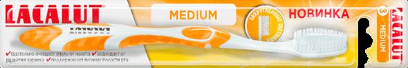Зубная щетка LACALUT medium
