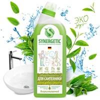 Средство биоразлагаемое для мытья сантехники SYNERGETIC Зеленая сила, 0,7л
