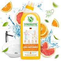 Средство биоразлагаемое для мытья сантехники SYNERGETIC 5 в 1, 0,7л