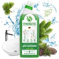 Средство биоразлагаемое для мытья сантехники SYNERGETIC Хвойный лес, 0,7л