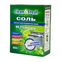 Соль для ПММ CLEAN&FRESH гранулированная 1,8 кг