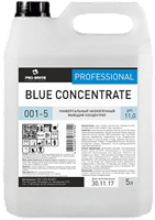 Blue Concentrate, 5 л, низкопенный концентрат