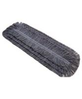 MRL-80, Моп разрезной серый хлопок-полиэстер, 80х9см, карман