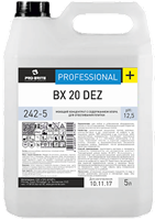 BX 20 DEZ, 5 л, концентрат с хлором для отбеливания плитки