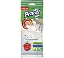 Влажные салфетки антибактериальные для кухни и ванной, 20шт.