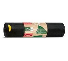 Мешки для мусора с тесьмой  ECO LINE 120л  10шт. (ПВД)