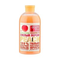Organic Shop / HOME MADE / Гель для душа спелый персик peach, 500 мл