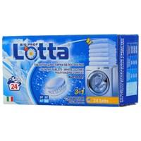 """Таблетки для стирки белого белья """"LOTTA"""" Италия 24 штук"""