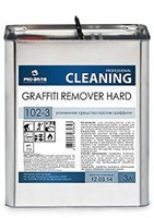 Graffiti Remover Hard, 3л, усиленное средство против граффити