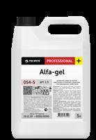 ALFA-GEL Усиленное средство против известковых отложений и ржавчины для уборки 5л.