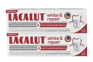 LACALUT white&repair зубная паста 75 мл