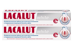 LACALUT white профилактическая зубная паста 75 мл