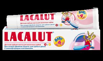 LACALUT Baby детская зубная паста до 4 лет, 50 мл