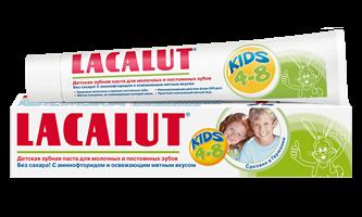 LACALUT kids 4-8 детская зубная паста, 50 мл