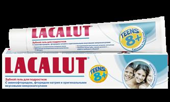 LACALUT Teens 8+ зубной гель для подростков 50 мл