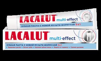 Lacalut multi-effect зубная паста, 50 мл