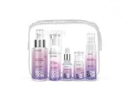 ICON SKIN  / Набор средств для ухода за всеми типами кожи Re:Mineralize № 1, 5 средств travel size.