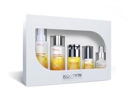 ICON SKIN  / Набор средств c витамином С для сияния, упругости и улучшения цвета кожи, 5 средств. Профессиональный уход для всех типов кожи.