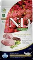 Корм ND Cat GF Quinoa Weight Management Lamb, 1,5 kg/для взрослых кошек с ягненком, контроль веса, 1,5 кг