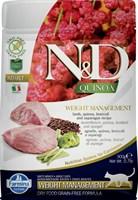 Корм ND Cat GF Quinoa Weight Management Lamb, 300 g/для взрослых кошек с ягненком, контроль веса, 300 г