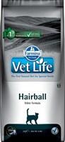 Корм Vet Life Cat Hairball 2 kg/ с курицей   для взрослых  кошек для выведения шерстяных  комочков